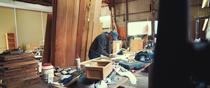 Design Office SUKIMONO's work shop, Gotsu-cho, Gotsu, Shimane.
