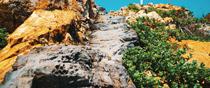 島根県益田市西平原町 唐音の蛇岩
