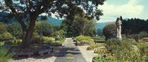 """European Herb Garden """"Kouboku no Mori"""", Ohnan-cho, Ochigun, Shimane, Japan."""
